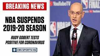 BREAKING: NBA suspends season after Rudy Gobert tests positive for coronavirus | CBS Sports HQ