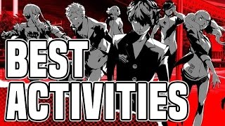 Persona 5 Guide To The Best Daily Activities & Day Exclusives