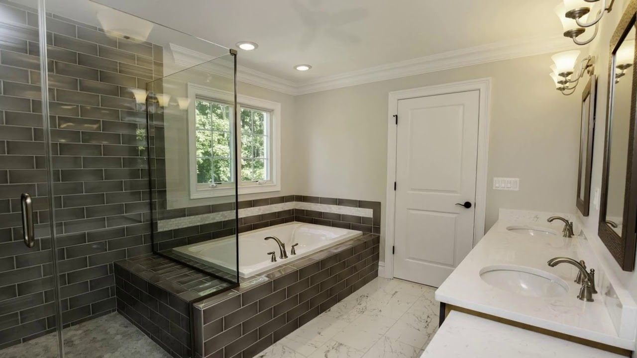 Master Bathroom Decorating Ideas: 50 BATHROOM IDEAS 2017! Best Master Bathroom Ideas And
