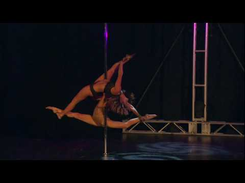 Carly and Charlee - Pole Theatre USA 2017 Pro Division Overall Champions