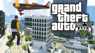GTA 5 FUN WITH CHEATS - AIR WALKING! (GTA V Cheat Codes)
