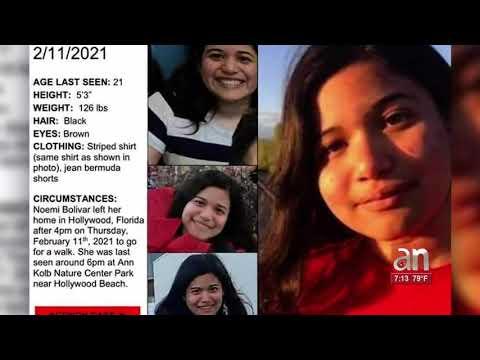 Se intensifica la búsqueda de joven autista desaparecida en Hollywood, Florida