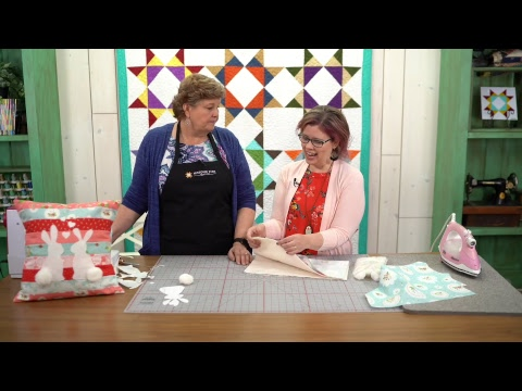 REPLAY: Spring Bunny Pillow With Bev McCullough And Jenny!