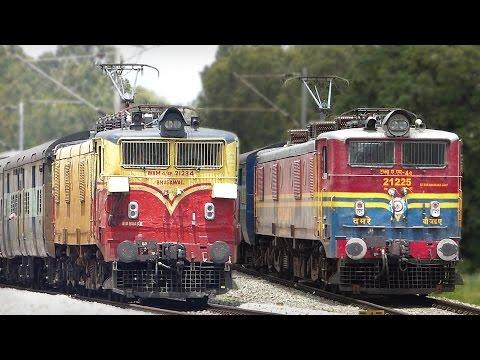 On The Verge Of Extinction OLDEST Locomotive WAM4 : Indian Railways