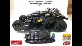 Review Lepin Batman Tumbler 07060 - Lego UCS 76023