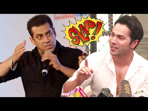ANGRY Salman Khan Wanted To SLAP Varun Dhawan, Find Out Why
