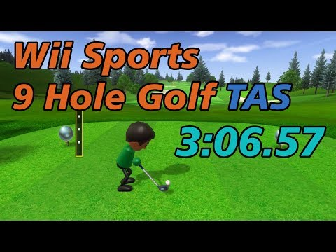 Wii Sports 9 Hole Golf TAS in 3:06.57