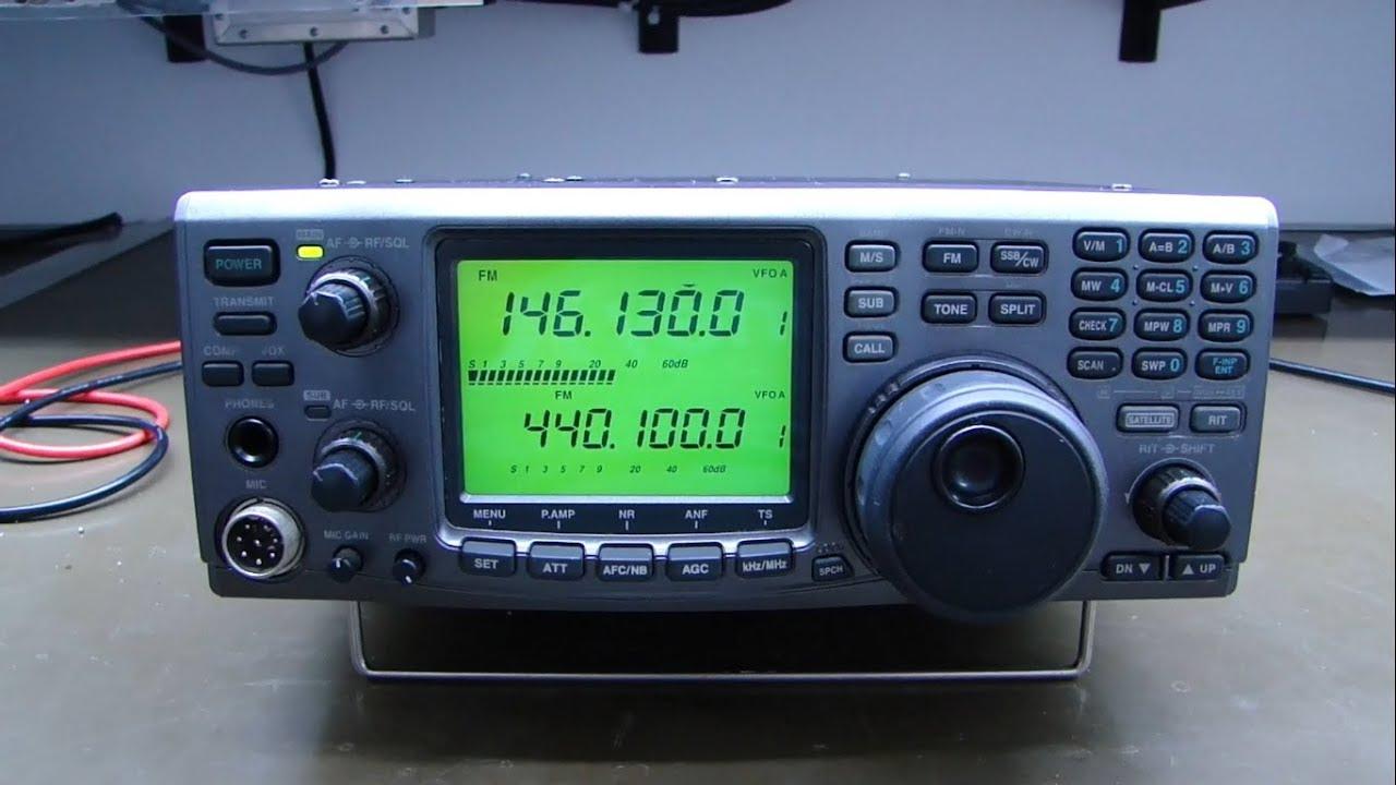 ALPHA TELECOM: ICOM IC-910H PERDEU POTÊNCIA APÓS SURTO NA REDE ELÉTRICA