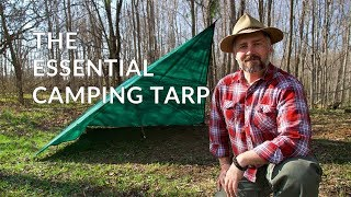TARP SHELTERs  for CAMPING, BUSHCRAFT and WILDERNESS SURVIVAL