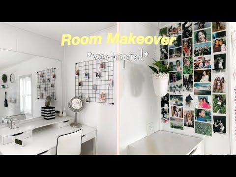 REDOING MY ROOM | aesthetic