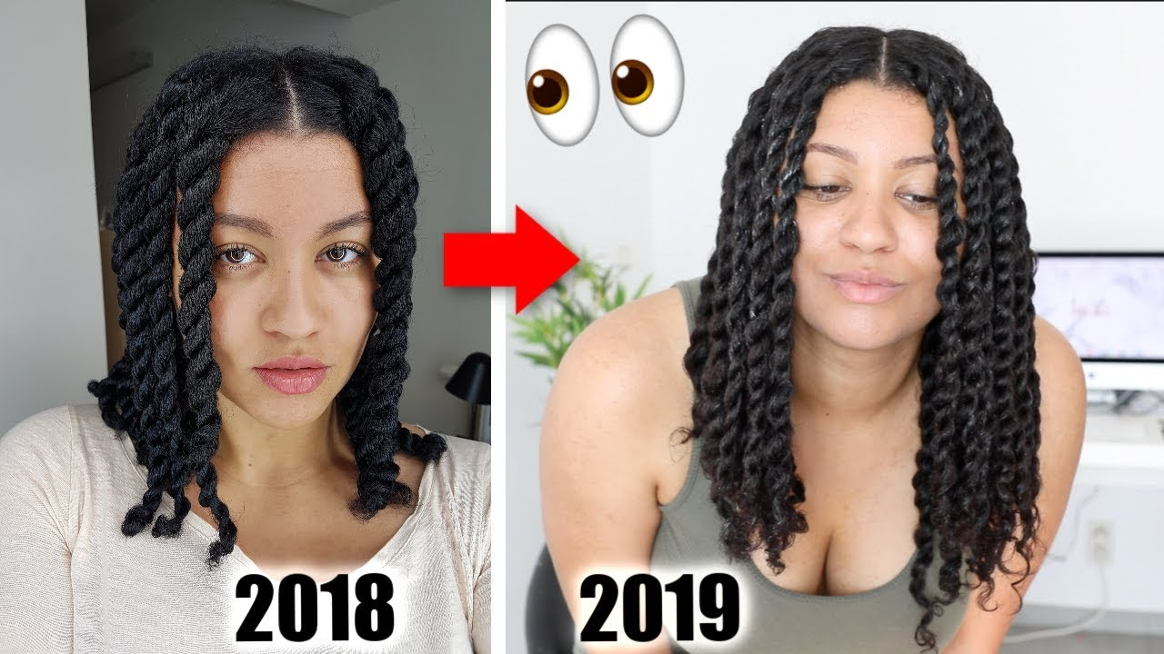 The Best Protective Style For Natural Hair Growth Youtube