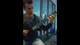 Allan Holdsworth - Pud wud - Cover by Angelo Comincini
