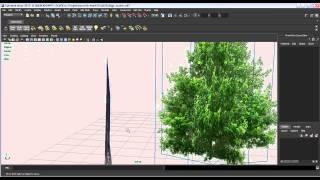 Low Polygon Tree Creation