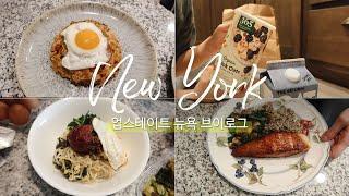ENG) 미국일상 VLOG | 뉴욕 업스테이트 집밥 일…