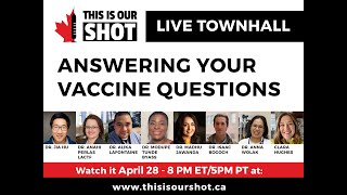 Live Townhall and Launch Event | This is Our Shot