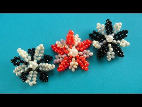 Плетение бисером цветы