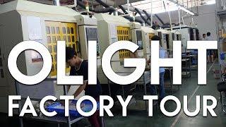 Olight Flashlight Factory Tour