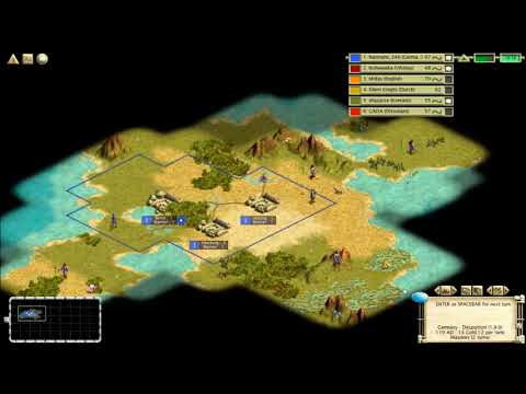 Civ3MP 3v3 QC Germany - From Average to Something, with Music