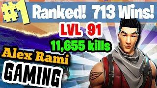 #1 World Ranked - 713 Wins - 11,655 Kills - Level 93 - Sponsor Goal 325/350