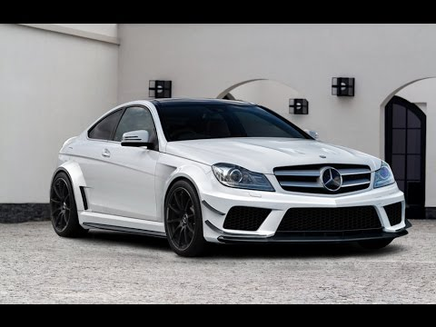 mercedes c class w204 coupe amg black series kit youtube. Black Bedroom Furniture Sets. Home Design Ideas