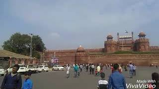Journey to lal qella(red fort)!! jama mosjid in delhi, september 2017