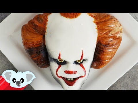 IT Pennywise Cake | Scary Halloween Cake Ideas | It party Ideas