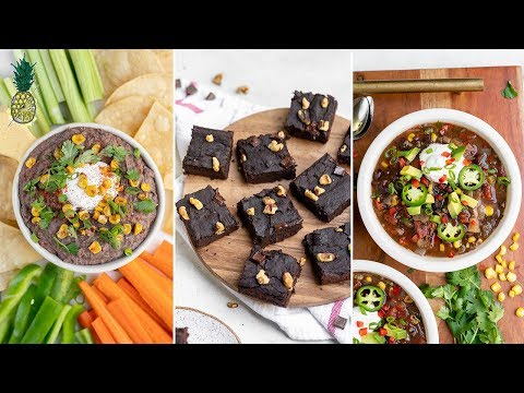 easy-recipes-for-leftover-black-beans-|-vegan-&-healthy