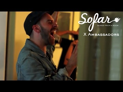 X Ambassadors - Love Songs Drug Songs | Sofar Austin