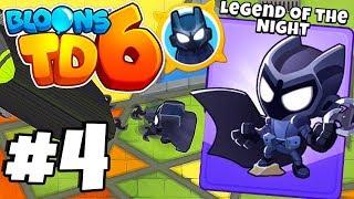 *BATMAN MONKEY!* Tier 5 Super Monkey Vs 1000 ZOMG - Bloons Tower Defense 6 Part 4