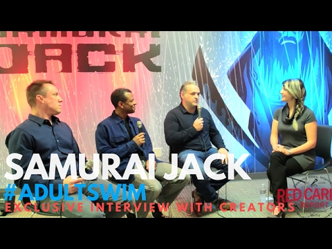 EXCLUSIVE interview with SAMURAI JACK Creators; Genndy Tartakovsky, Phil Lamarr & Scott Wills