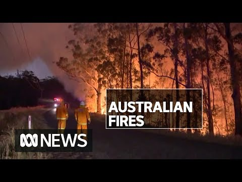 NSW And Victoria Firefighters, Residents Brace For Night Of Battling Damaging Fires | ABC News
