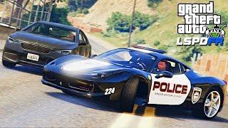 Полицейские Будни в GTA 5 - ДПС НА FERRARI 458. ЗАХВАТ ПОЛИЦЕЙСКОГО УЧАСТКА. ПОМОЩЬ НА ДОРОГЕ.