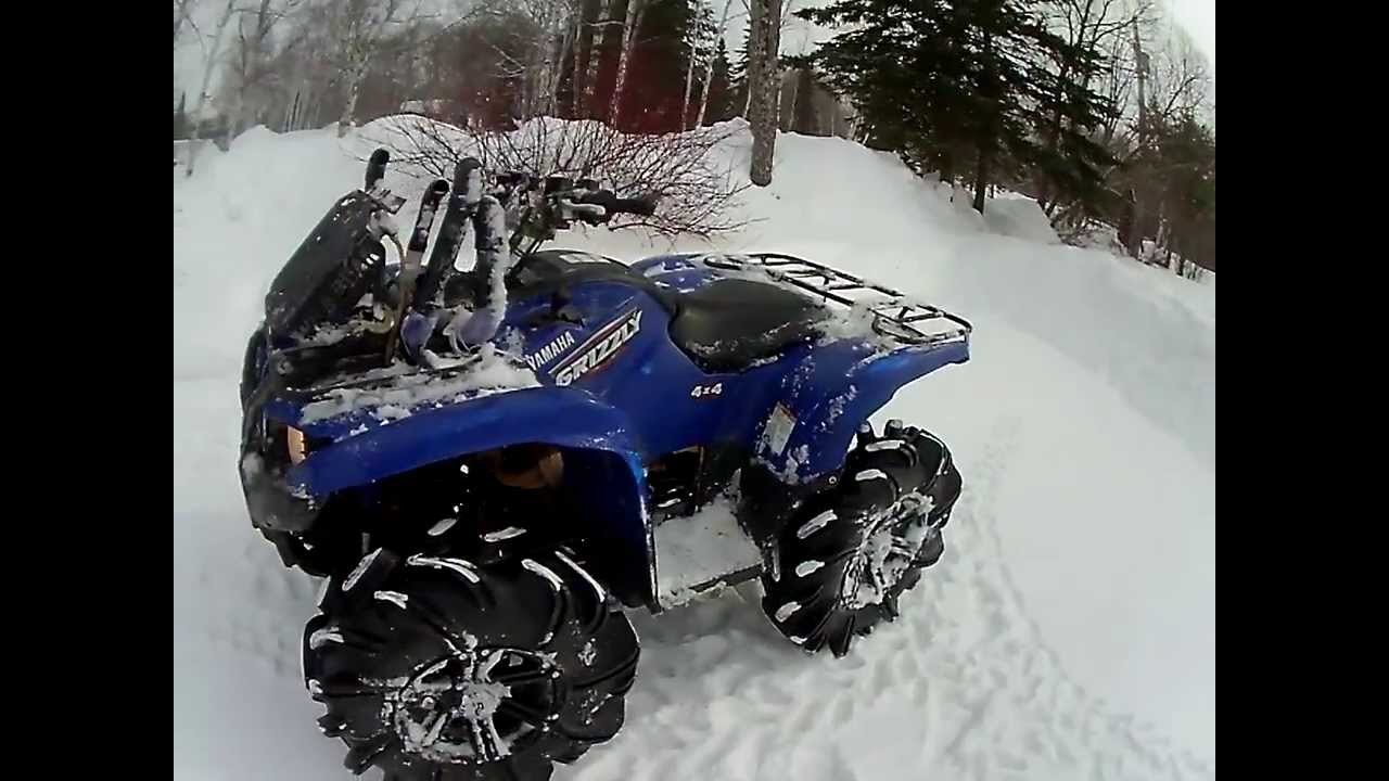 Yamaha Grizzly 700 On 29 5 Outlaws 2