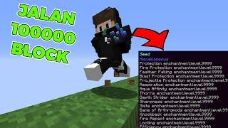 Minecraft Tapi Setiap Aku Berjalan Item ku Di Enchant