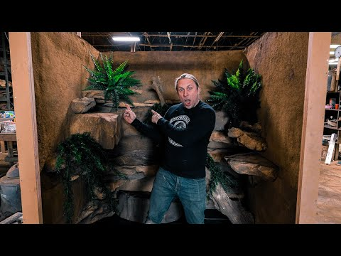 BUILDING A $12,000 REPTILE CAGE FOR MY REPTILE ZOO!! | BRIAN BARCZYK