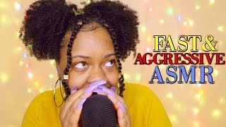 ASMR | ⚡FAST & AGGRESSIVE TRIGGERS: PART 3 ♡ | (Viewers Choice♡)