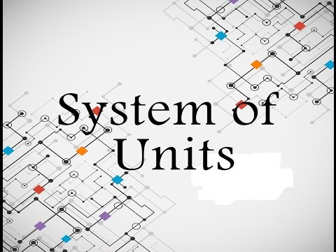 System of units in Physics | Phyacademy