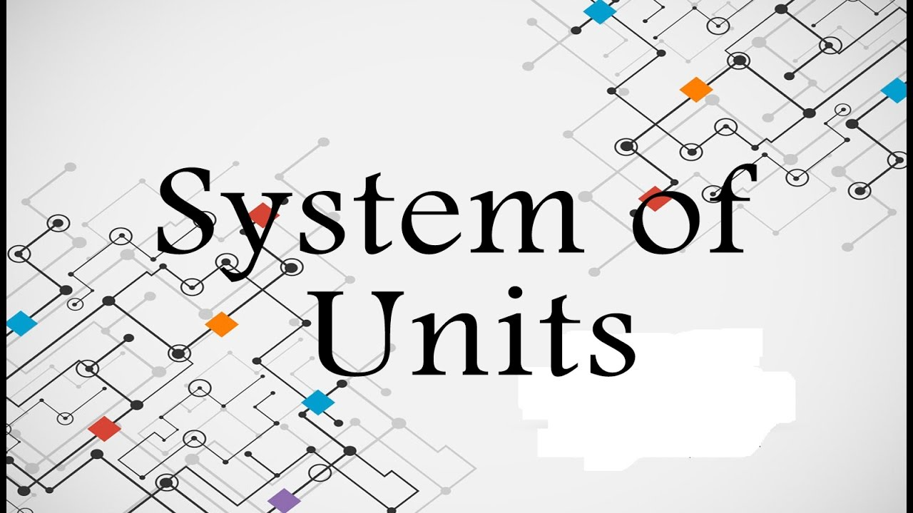 System of units in physics phyacademy youtube system of units in physics phyacademy nvjuhfo Images