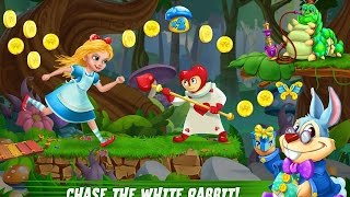 Alice in wonderland rush Алиса в Стране Чудес - Погоня Android