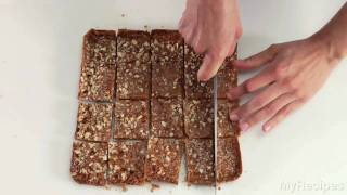 How To Make Two Layer Caramel Pecan Bars | Myrecipes