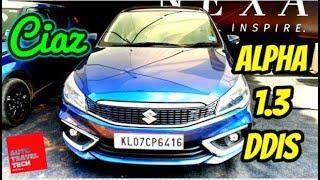 Maruti Suzuki Ciaz Alpha Smart Hybrid 2018 I Features, Specifications & Price