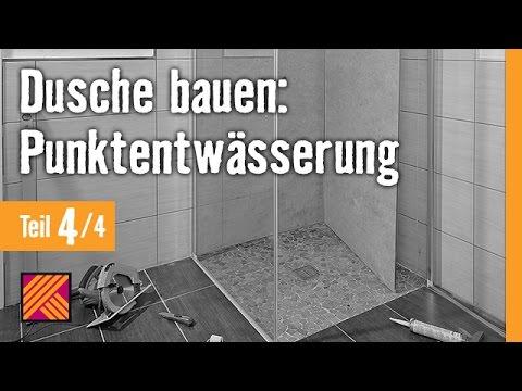 Version 2013 Bodengleiche Dusche Einbauen Punktentwasserung