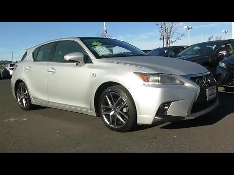 2015 Lexus Ct Hatchback 200h Napa Vallejo Fairfield Petaluma Santa Rosa