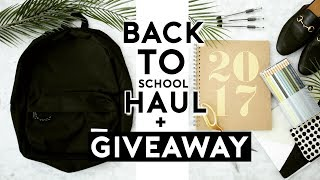 Back To School Supplies Haul 2017- 2018 // AESTHETIC & TRENDY