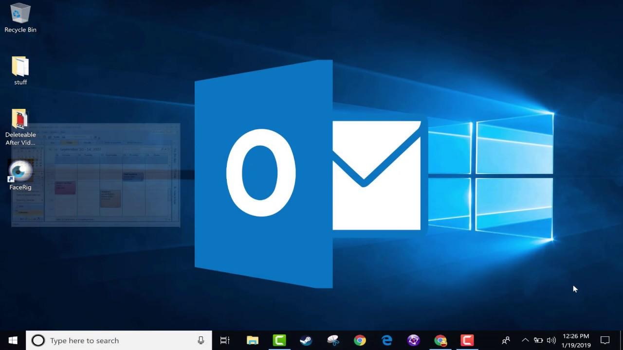 Beginner's Guide to Microsoft Outlook - 2019 Tutorial