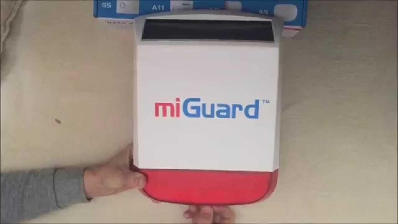 Why You Should Not Buy A Response / Chuango MiGuard G5 Burglar Alarm ...