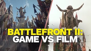 Star Wars Battlefront 2: Game vs Film