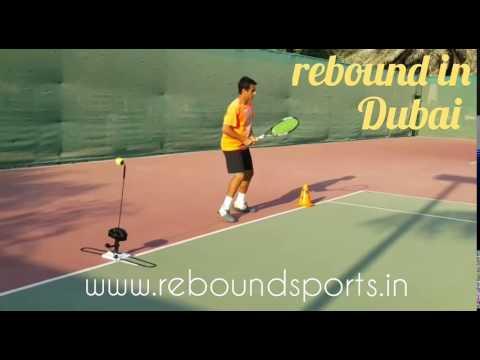 rebound tennis trainer in Dubai