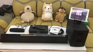 Test and Review Soundbar Bose Soundtouch 130 chơi nhạc Bluetooth Wifi HDMI Sub không dây