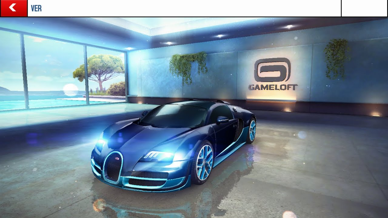 asphalt 8 airborne bugatti 16 4 grand sport vitesse max 2015 youtube. Black Bedroom Furniture Sets. Home Design Ideas
